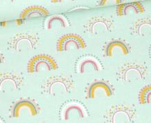 Flanell - Rainbow - Mint