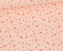 Musselin - Muslin - Double Gauze - Sweet Flowers - Babyrosa
