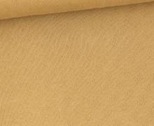 Lochstrick - Baumwolle - Herzen - Camelbraun