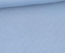 Lochstrick - Baumwolle - Herzen - Hellblau