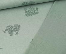 Jacquard - Weich - Tiger - Fibre Mood - Lichtgrün