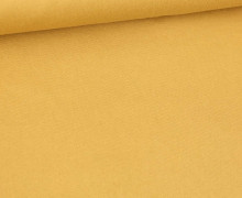 Canvas Stoff - feste Baumwolle - Uni - Fibre Mood - Ockerbraun