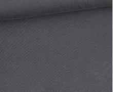 Modal Jersey - Weich - Uni - Dunkelgrau
