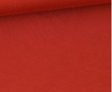 Modal Jersey - Weich - Uni - Rostrot