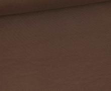 Jersey Smutje - Uni  - 150cm - Schokobraun
