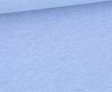Jersey Smutje - Hell Meliert  - 150cm - Jeansblau