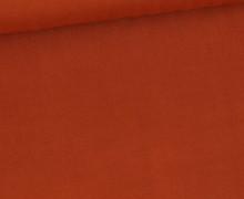 Viskose – Blusenstoff  – Uni – 110g – Rostorange