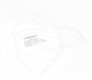 1 FFP2 Maske – 5 Lagig – Flexibler Nasenbügel – CE Zertifiziert – Einwegmaske – Weiß
