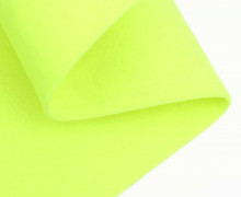 3mm Filz - Polyesterfilz - Klassik Filz - Neongelb