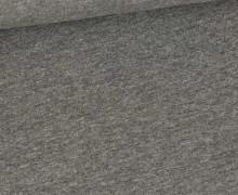 Jersey - Hell Meliert  - Melange - Grau