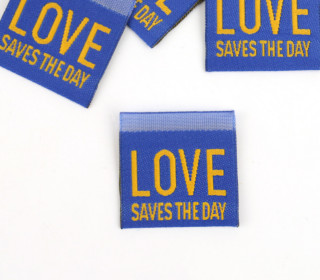 1 Label – LOVE SAVES THE DAY – Blau