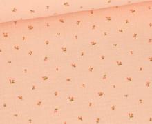 Musselin - Muslin - Little Cherry - Double Gauze - Apricot