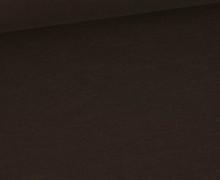 Bio Sommersweat - Organic Cotton - French Terry - 145cm - Uni - Dunkelbraun