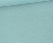 Bio Sommersweat - Organic Cotton - French Terry - 145cm - Uni - Pastelltürkis