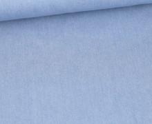 Jeans - Jeansstoff - Uni - Fibre Mood - Hellblau