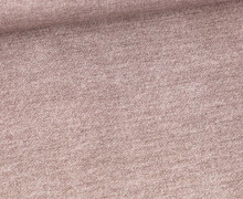 Sommersweat - French Terry - Bedruckt - Jeansoptik - Taupe