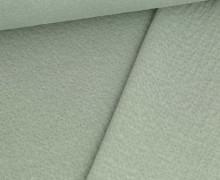 Doppelter Sommersweat - Baumwolle - Doubleface - Unregelmäßige Lochstruktur - Lichtgrün