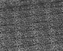 Baumwolle - Webware - Getricheltes Muster - Schwarz