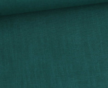 Ramie - Leinen - Naturfaser - Uni - Opalgrün