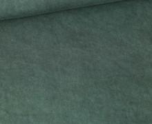 Viskose - Blusenstoff - Vintage - Dunkelgrün