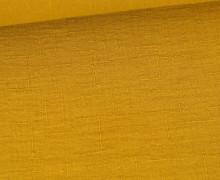 Bambus-Musselin - Double Gauze - Uni - Senfgelb