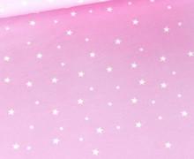 Jersey - Tie-Dye Love 2.0 - Batik - Sterne - Bio-Qualität - Rosa - abby and me