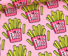 Performance Active Wear - OMG Fries - Hamburger Liebe