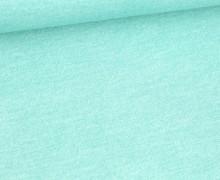 Jersey - Bedruckt - Jeansoptik - Mint