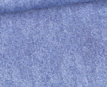 Jersey - Bedruckt - Jeansoptik - Jeansblau