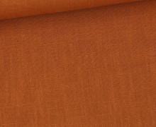 Leinen - Uni - 230g - Orangebraun