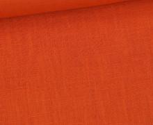 Leinen - Uni - 230g - Orange