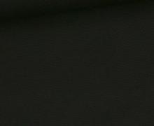 Canvas - feste Baumwolle - 252g - Uni - Schwarz