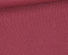 Canvas - feste Baumwolle - 252g - Uni - Altbeere