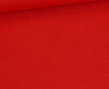Canvas - feste Baumwolle - 252g - Uni - Rot