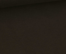 Bündchen Standard - Feine Rippen - Uni -  Schokoladenbraun - #671