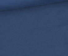 Sommersweat Standard - French Terry - Uni - Taubenblau Dunkel - #435