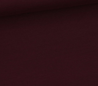 Sommersweat Standard - French Terry - Uni - Bordeaux Dunkel - #517