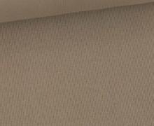 Bündchen Standard - Feine Rippen - Uni - Taupe -  #669