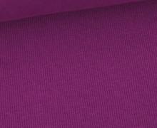 Bündchen Standard - Feine Rippen - Uni - Violett - #571