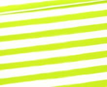 Jersey - Raketendino - Streifen - Kombistoff - Weiß - Bio-Qualität - Treeebird - abby and me