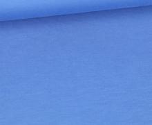 Baumbus Natur-Mischgewebe - Sommersweat - French Terry - Uni - Fibre Mood - Blau