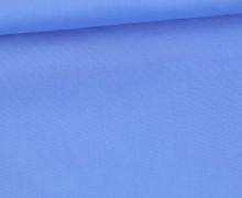 Baumwolle - Webware - Leicht Elastisch - Uni - Fibre Mood - Hellblau