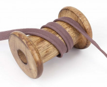 1 Meter Paspelband - Baumwolle - 1cm - Uni - Taupe