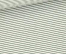 Jersey - Simply Stripes - Small - Lichtgrau/Lichtgrün