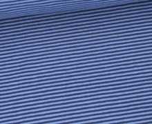 Jersey - Simply Stripes - Small - Jeansblau/Dunkelblau