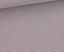 Jersey - Simply Stripes - Small - Altflieder/Altflieder Dunkel