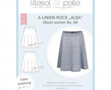 Schnittmuster - A-Linien-Rock Alba - women  no.66 - lillesol&pelle.