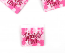 1 Label - Forever LOVE - Weiß/Pink