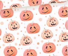 Jersey - Spooky Boo - Pumpkin Parade - Orange - Weiß - Halloween - Bio Qualität - abby and me