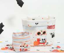DIY-SET - NÄHSET - Utensilo - Immortal Animals - Hallows Eve - Halloween - abby and me